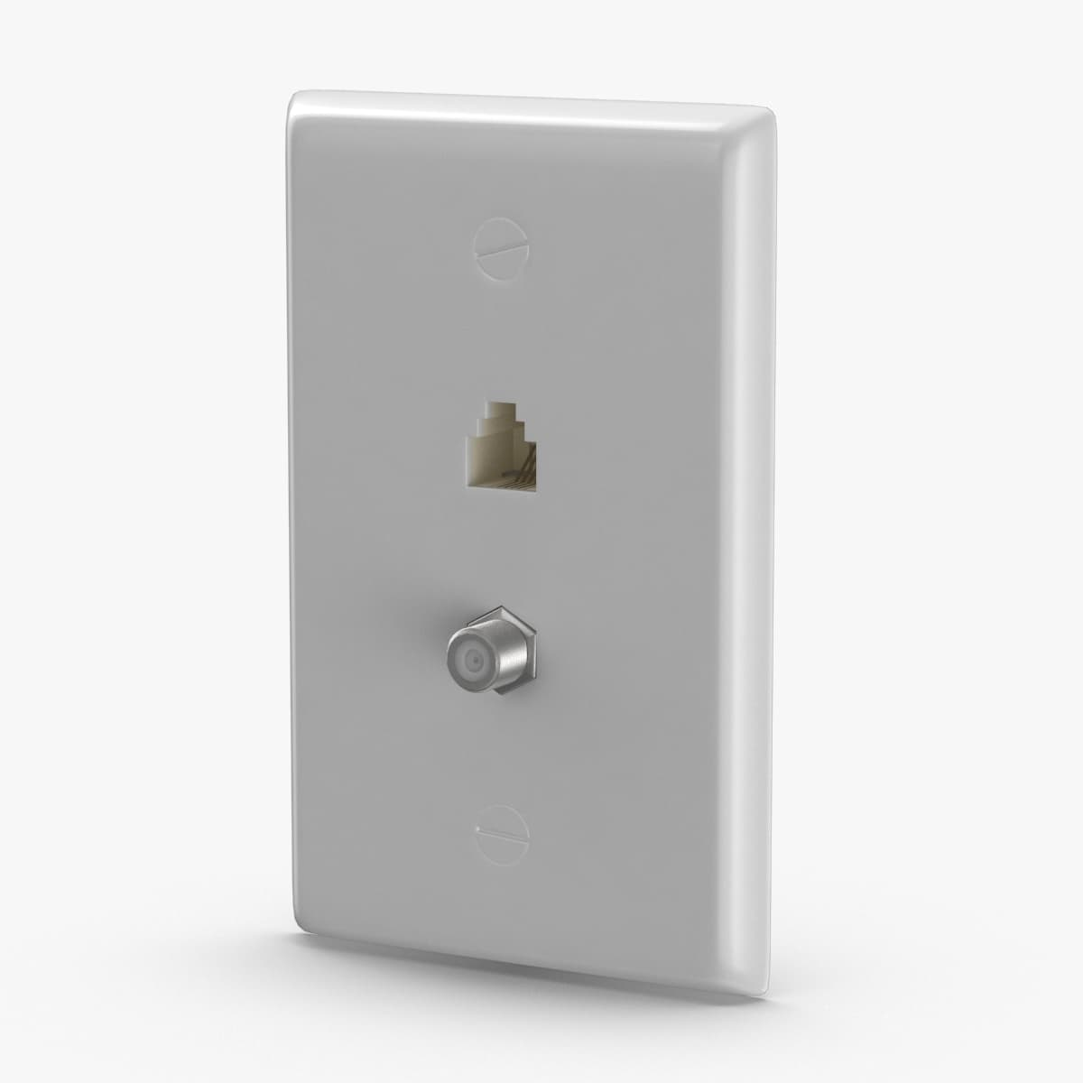 3D ethernet-wall-socket