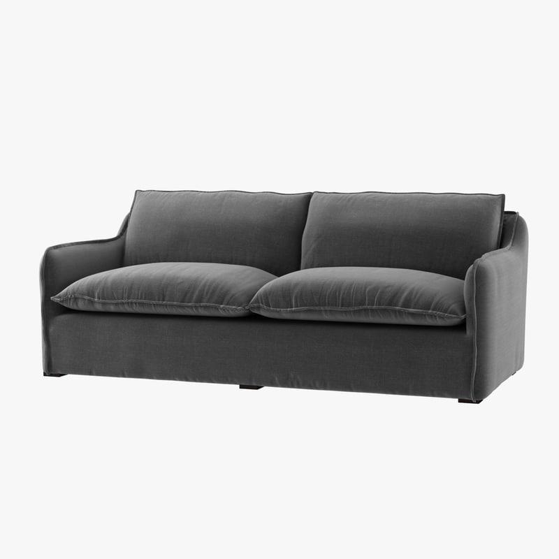sofa antibes coco republic 3D model