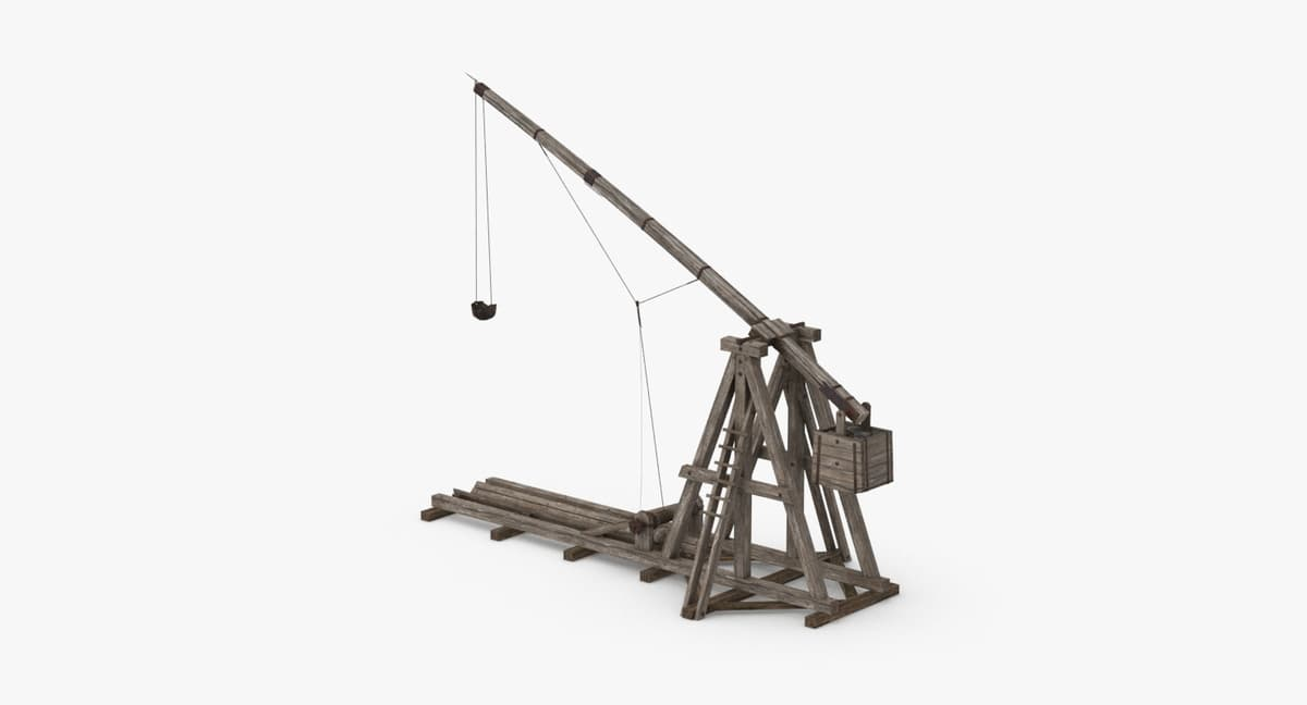 medieval-trebuchet 3D model