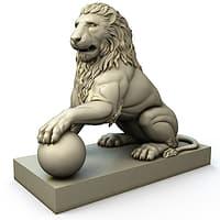 Lion Figure-007