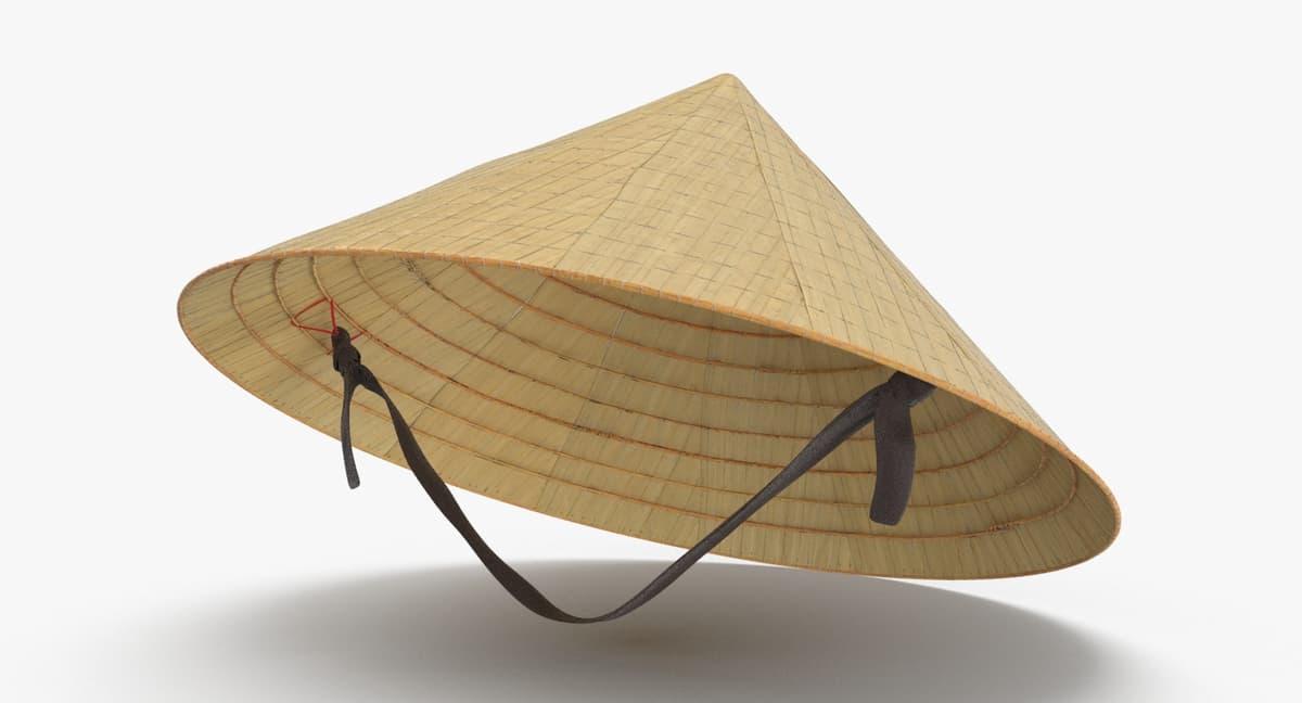 Vietcong-rice-hat---on-head 3D model - TurboSquid 1160474 5975539ccb2
