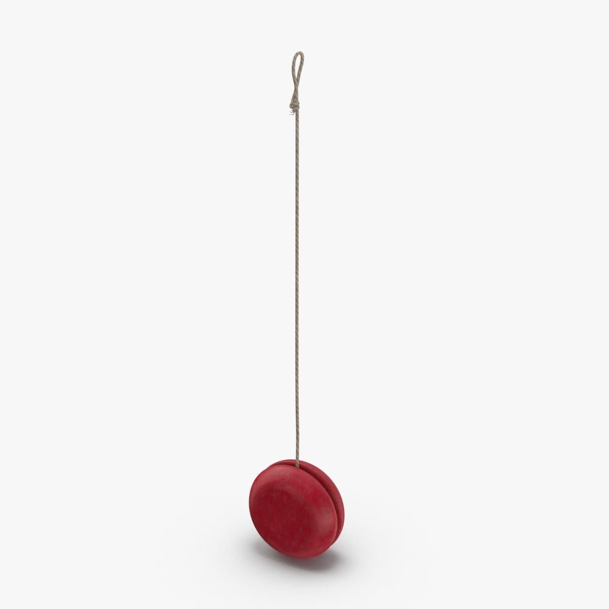3D vintage-yo-yo---pose-02 model