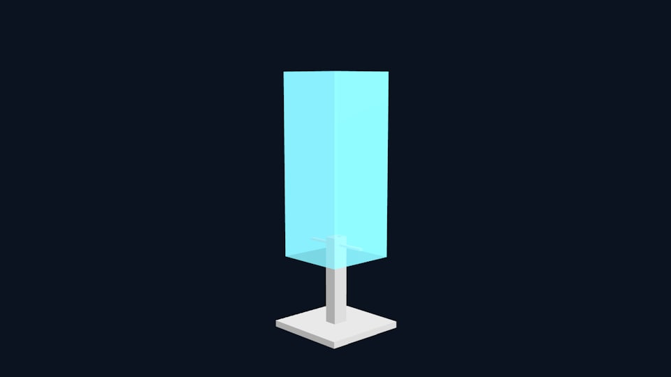 desk lamp light 3D model