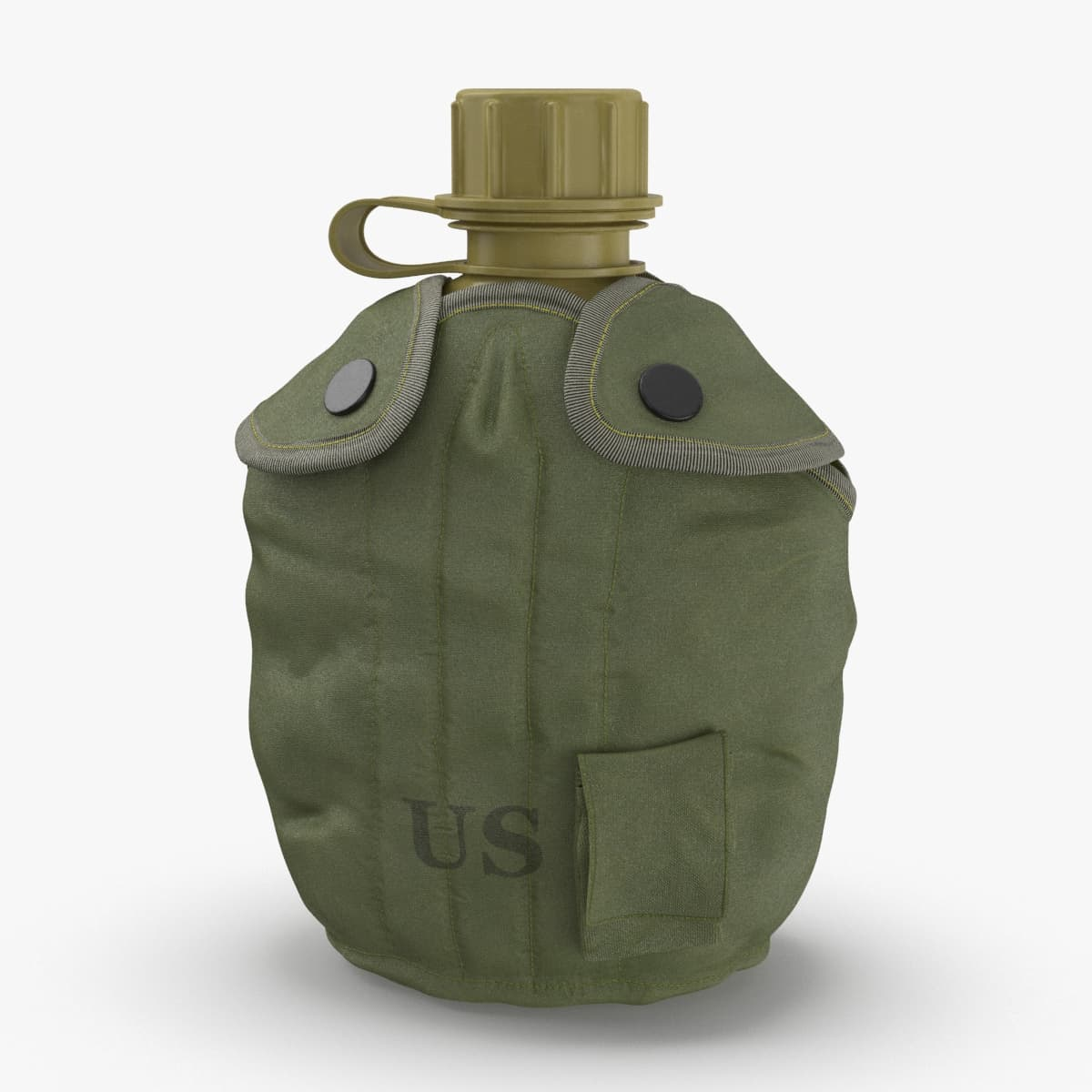 3D model m1967-canteen-and-cover