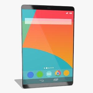 3D generic tablet