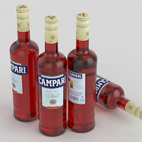 Alcohol Bottle Campari 700ml