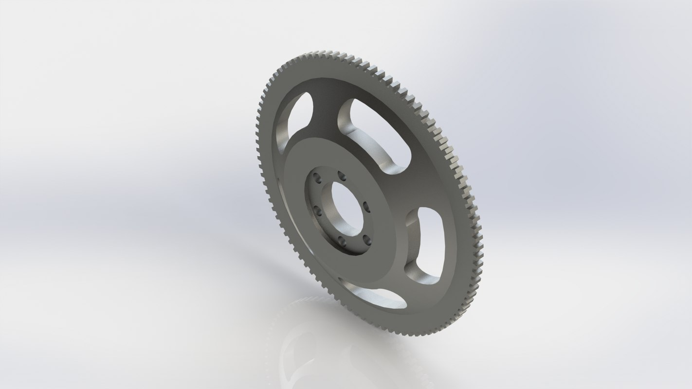 racing flywheel 3D model