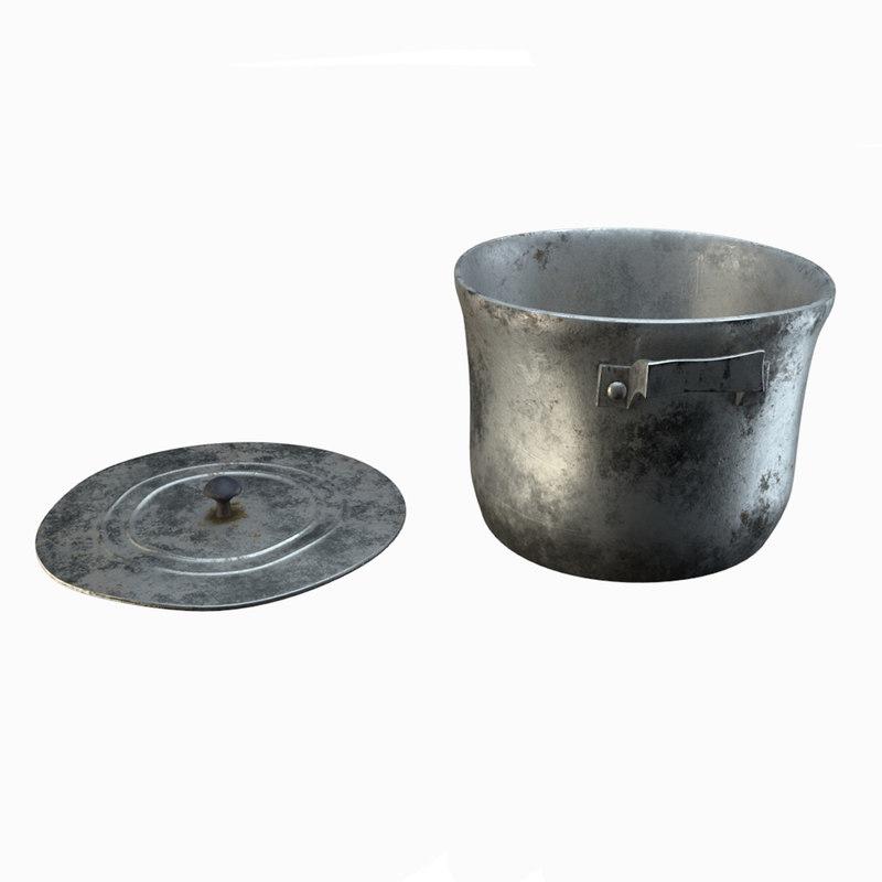 aluminum pan model