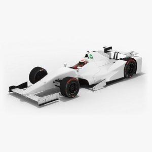 generic indy season 2017 3D model