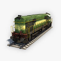 locomotive loco 3D