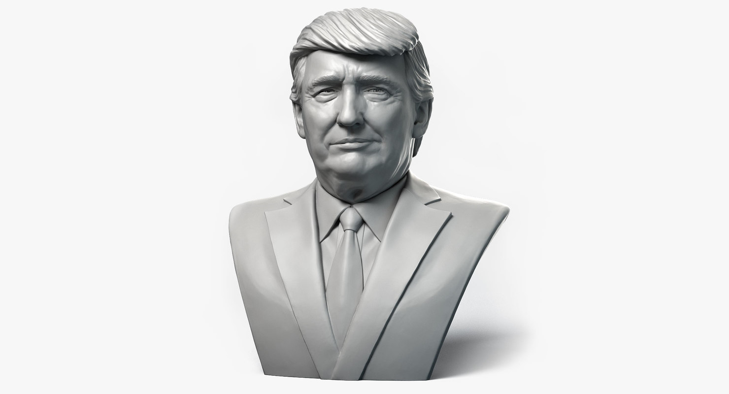 Donald trump emotion 1 3d model turbosquid 1160520 for Donald model
