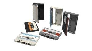 cassette tape 3D