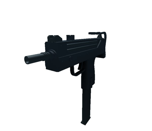 mac 10 3D model