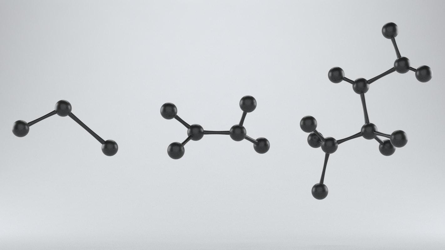 molecules 3D model