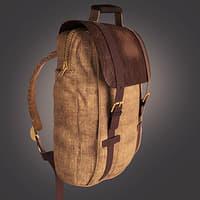3D backpack model
