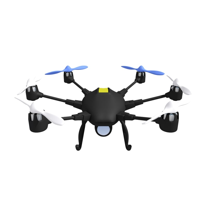 drone hexacopter model