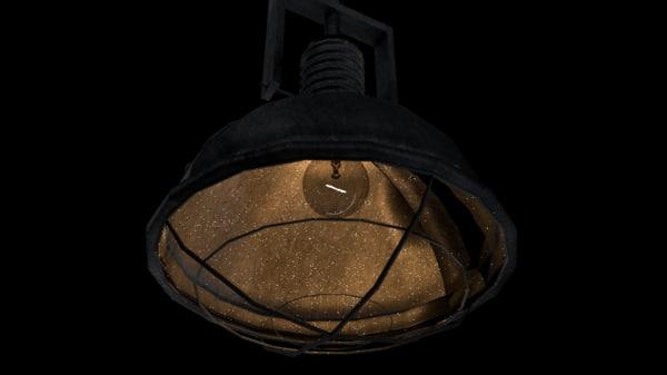 industrial lamp 3 model
