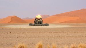 3D model huge explosion
