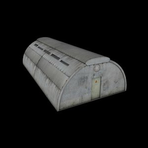 3D shelter bunker