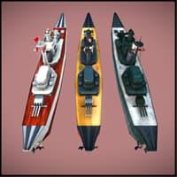 3D battleship unity