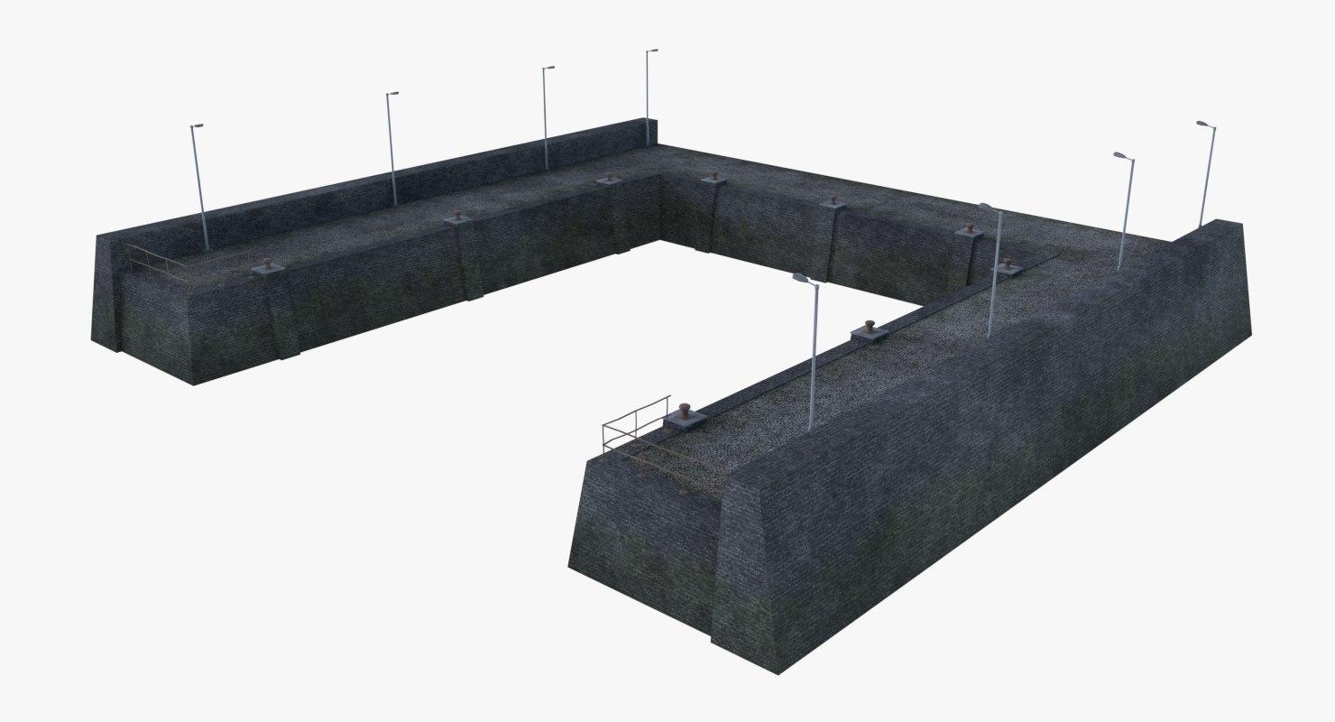 pier 6 3D model