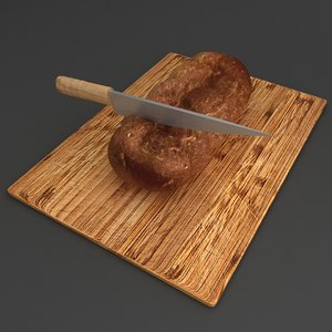 bread bun knife model
