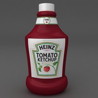 tomato catch bottle 3D model