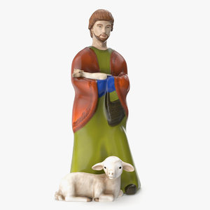 shepherd figurine model