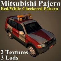 mitsubishi pajero chk 3D model