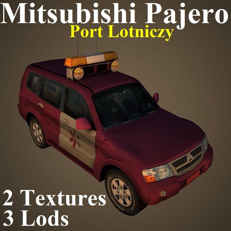 3D model mitsubishi pajero ppl