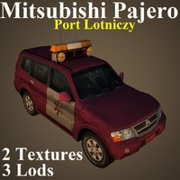 3D model mitsubishi pajero ppl