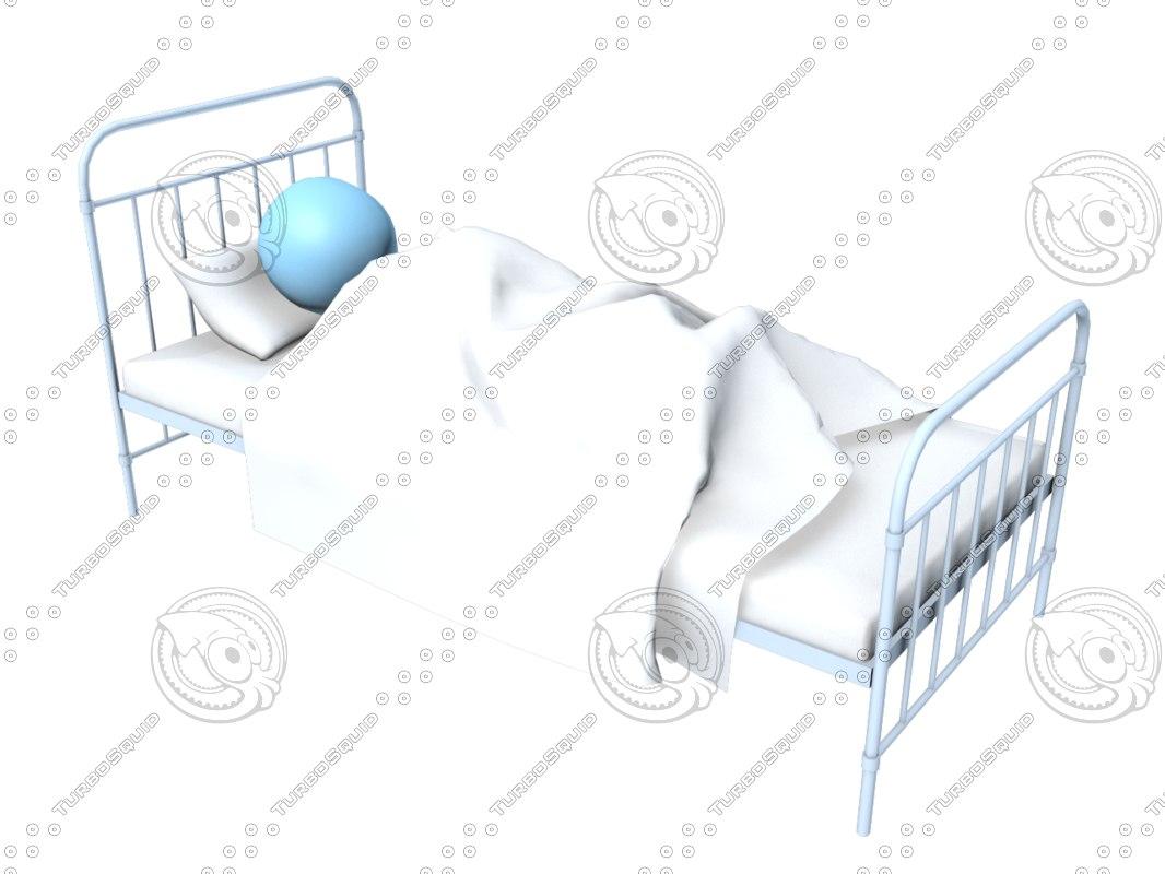 3D sick bed