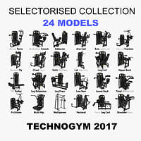 selectoriased technogym 2017 model
