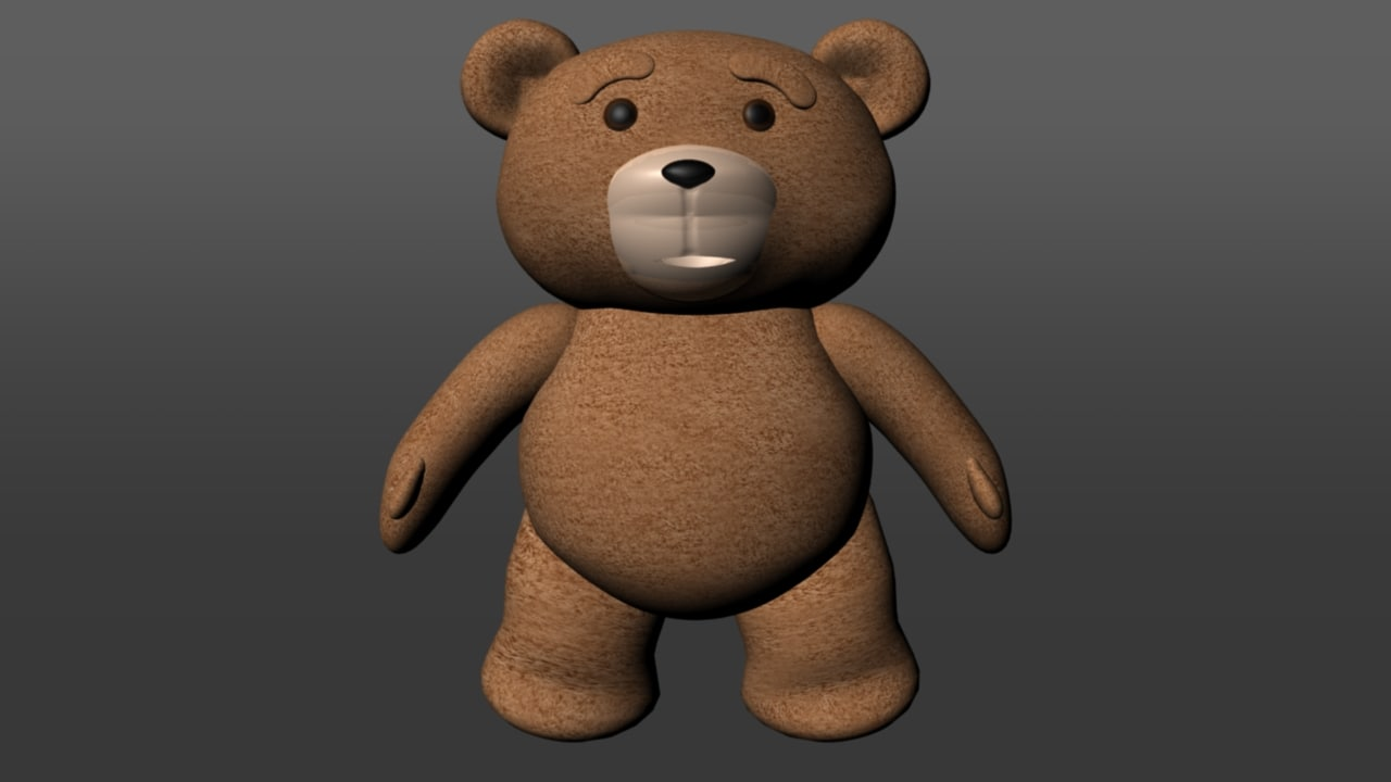 ted 3D model
