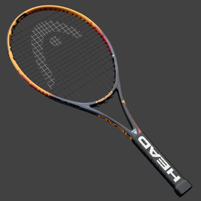 tennis rackets head ig 3D