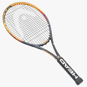 tennis rackets head ig 3D