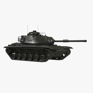3D m60 patto model