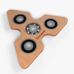 yomaxer fidget spinner model