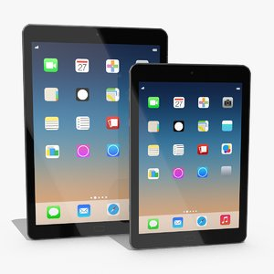 tablet generic 3D model