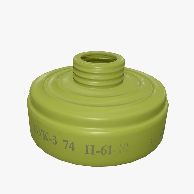gas filter buk-3 3D model