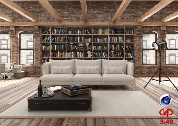 living room 3 40 model