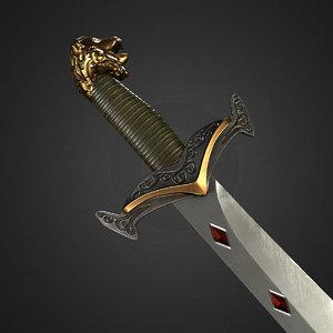 3D fantasy medieval sword games