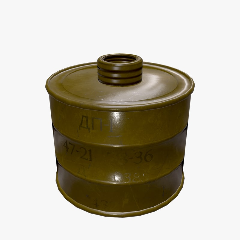 filter gas dp-1 3D model