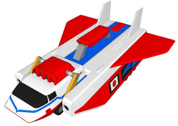 big carry 3D model
