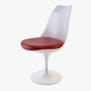 3D tulip chair model