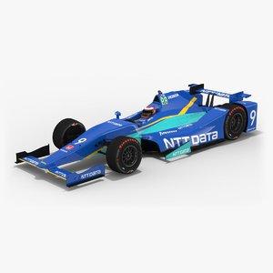 3D chip ganassi racing indy