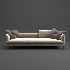 3D sofa paul molt