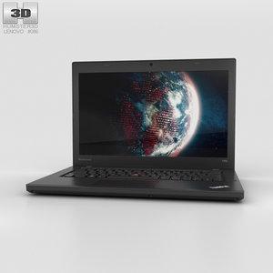 3D lenovo thinkpad t450