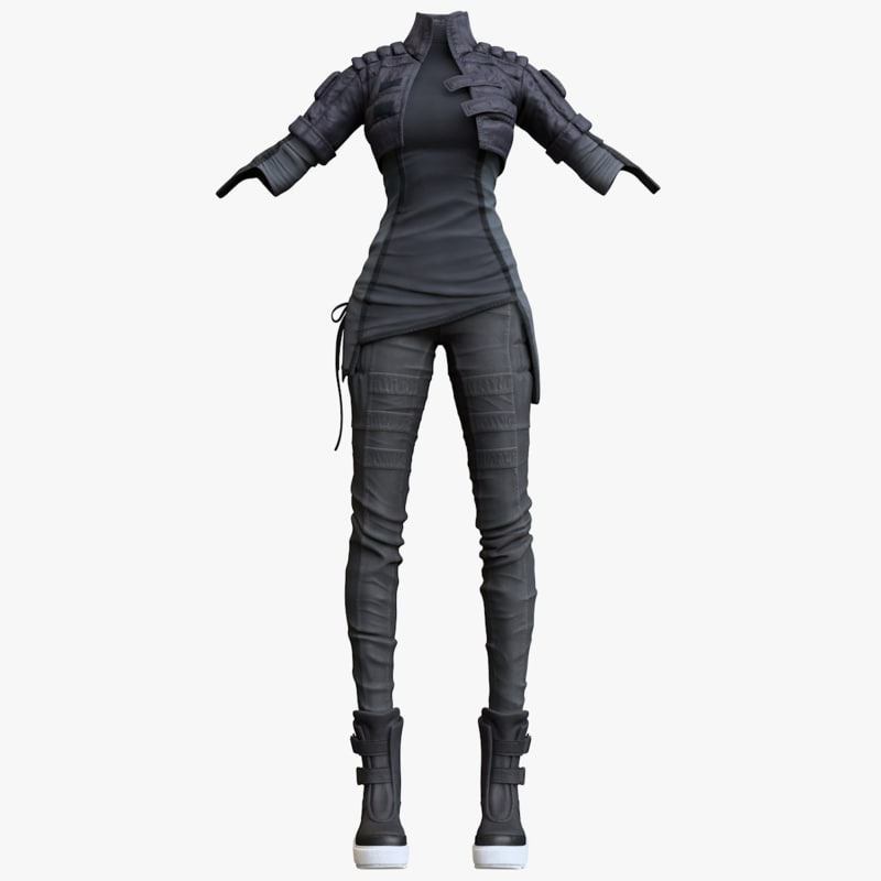 3D women clothing