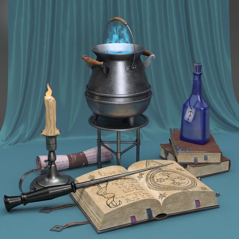 magical life 3D model